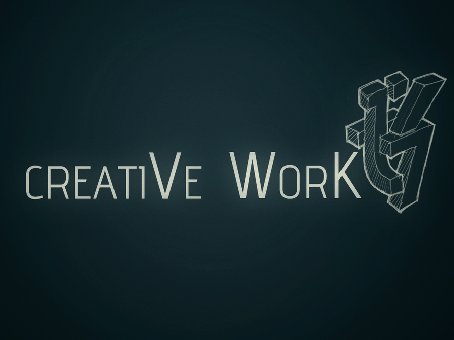 Creative work wallpaper logo by vraismc on deviantart creative work wallpaper logo by vraismc thecheapjerseys Image collections