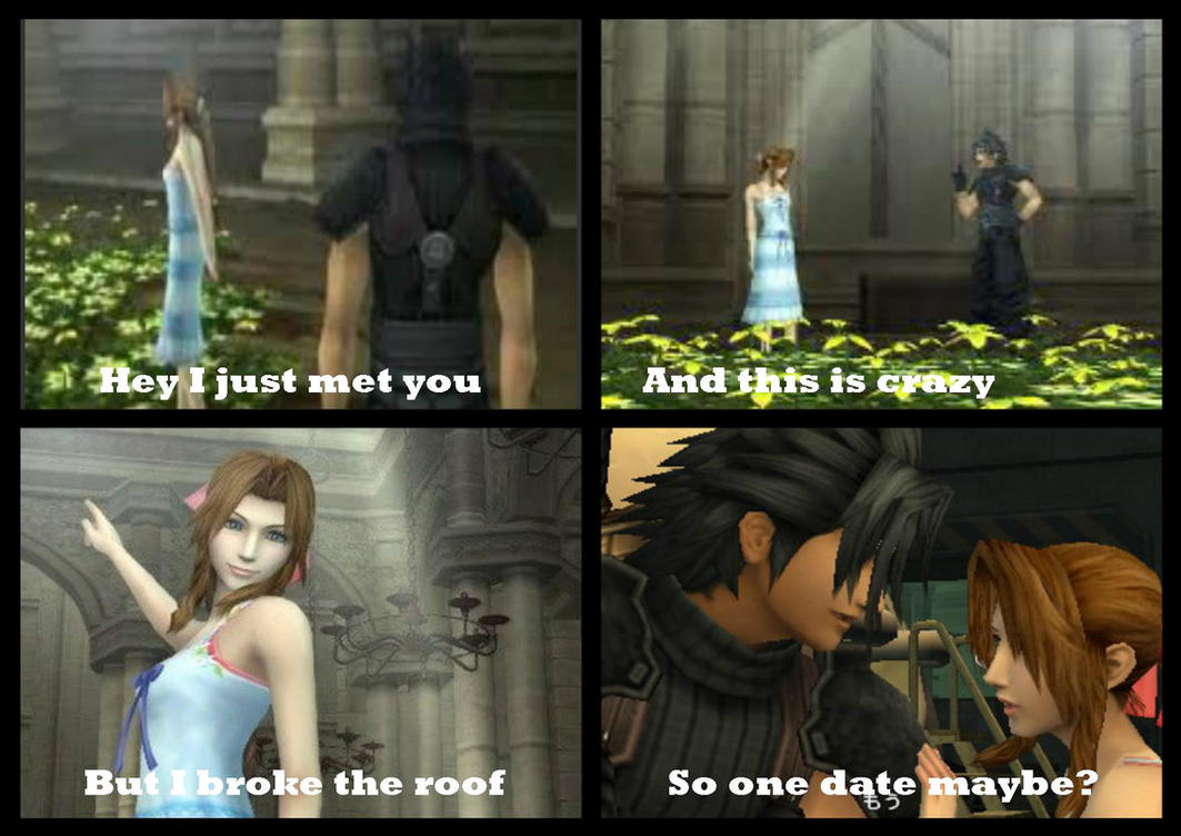 Final Fantasy VII meme (Call me Maybe) by TheAnimeGirl95