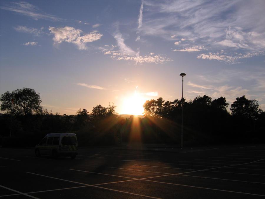 sunset by StudentToAll