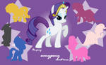 The Pony Everypony Should Know - Rarity Wallpaper