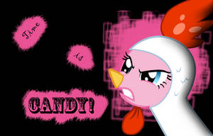 Time is candy - Pinkie Pie Wallpaper by l13000