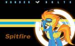 Wonderbolts Wallpaper - Spitfire