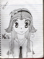 My First Manga Character by water2112