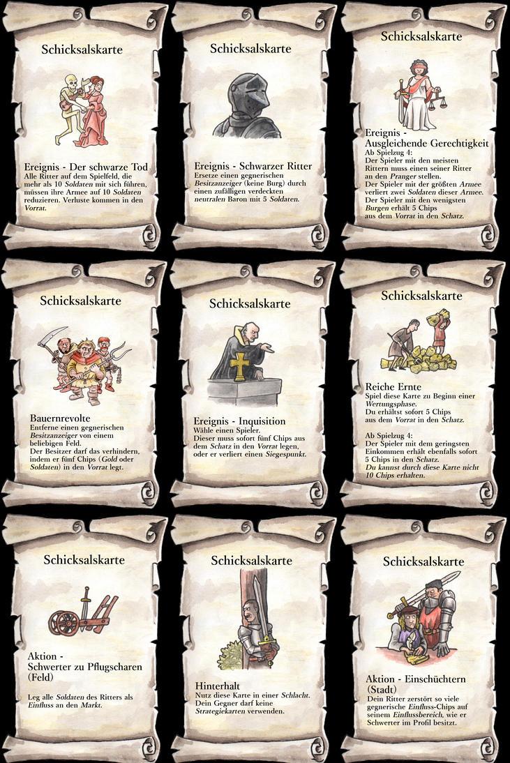 Fate Cards by Peterlerock