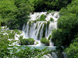 beautyfull Waterfalls at Krka nationalpark by IrishLordofKerry