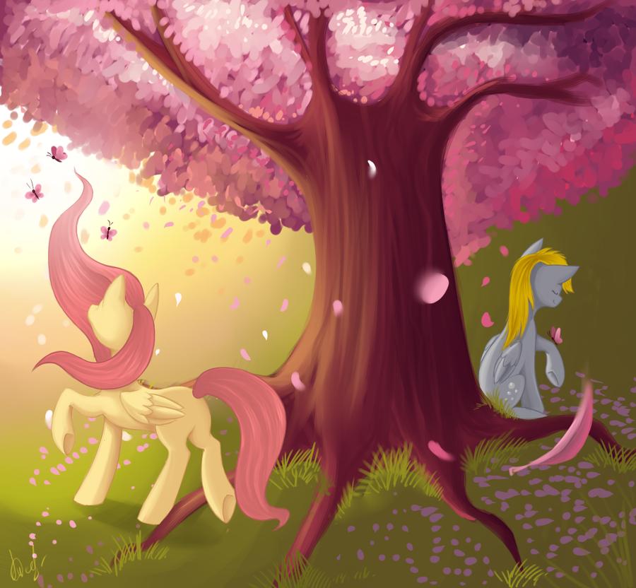 Sakura by ILightningStarI