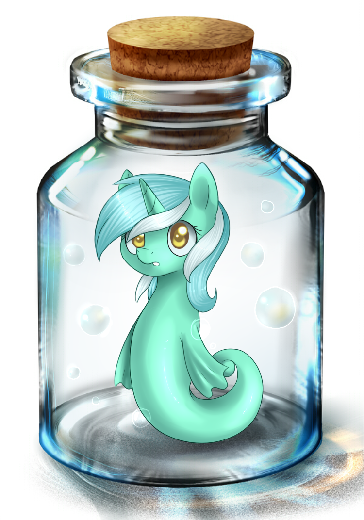 Lyra in bottle by Vampirenok