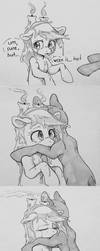 Can I give Candle pone a hug? by ILightningStarI