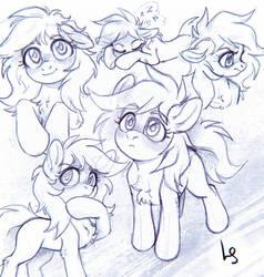 Lightning Star Sketch