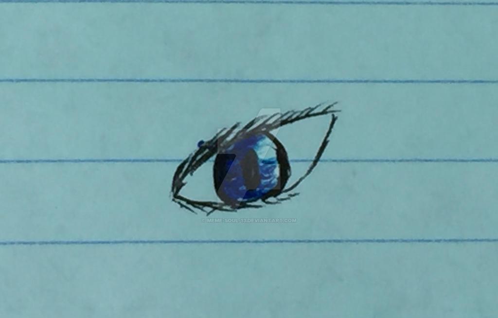 Color experiment-blue by MEME-SOUL-13