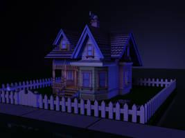 House - Night Scene 2 by MystiqueX