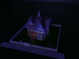 House - Night Scene 3 by MystiqueX