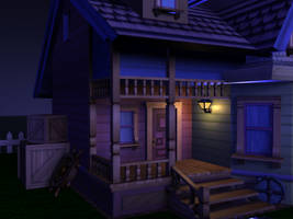 House - Night Scene 4 by MystiqueX