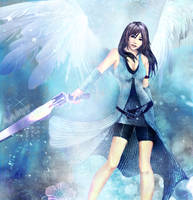 Angel Rinoa by Avidityy