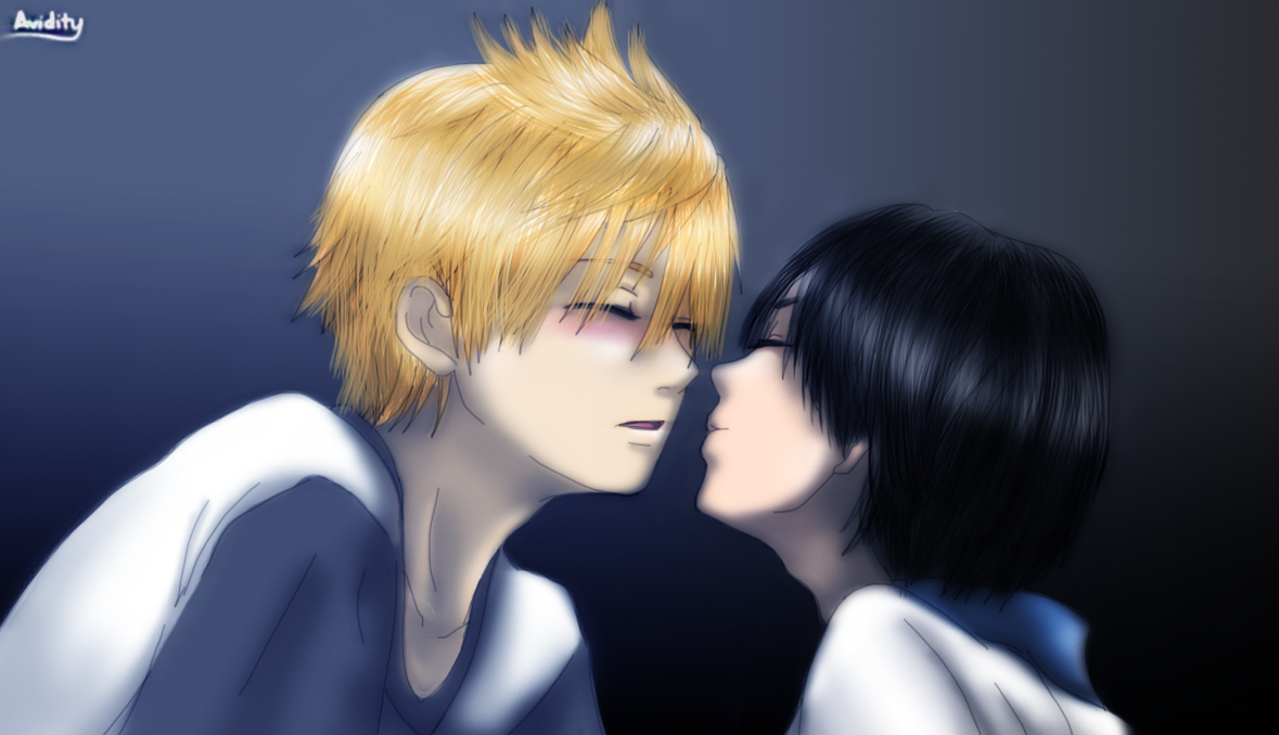Kiss me NOW, Roxas! (Roxas and Xion) by Avidityy