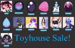 Toyhouse Sale by millionsknives01