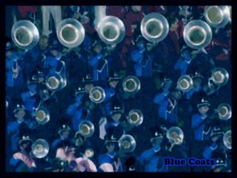 Blue Coats Hornline by sevnated