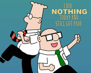 Dilbert - i did nothing all da by AndWii