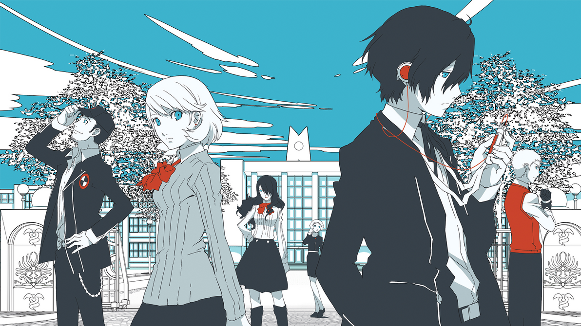 Persona 3 All Character By CopoNDUK