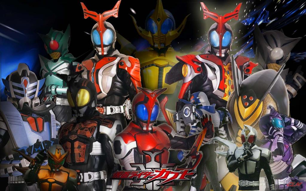 Kamen Rider kabuto all riders by FieroCLM on DeviantArt