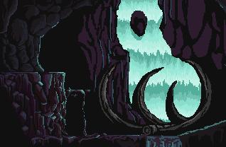 Waterfall Cave by nawayrusira