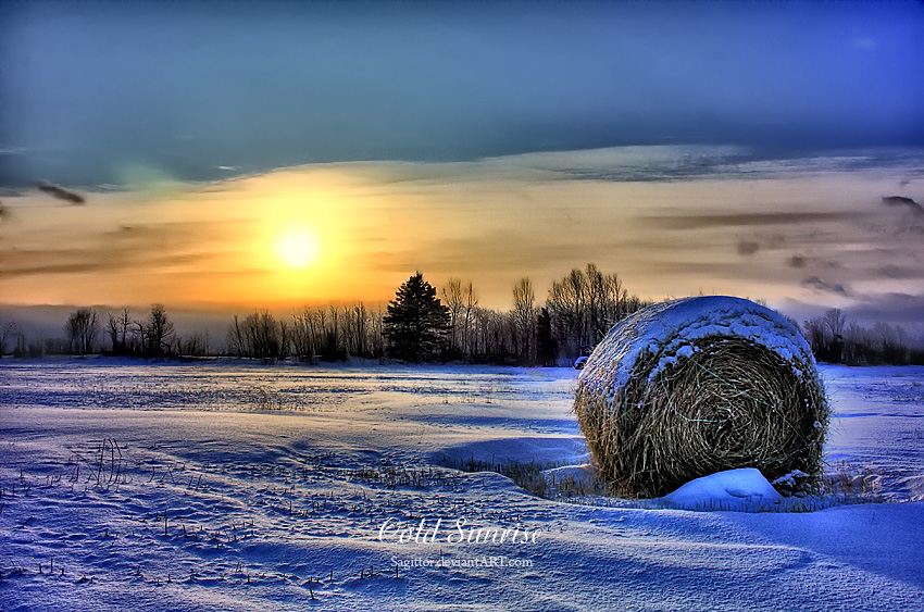 Cold Sunrise II by Sagittor