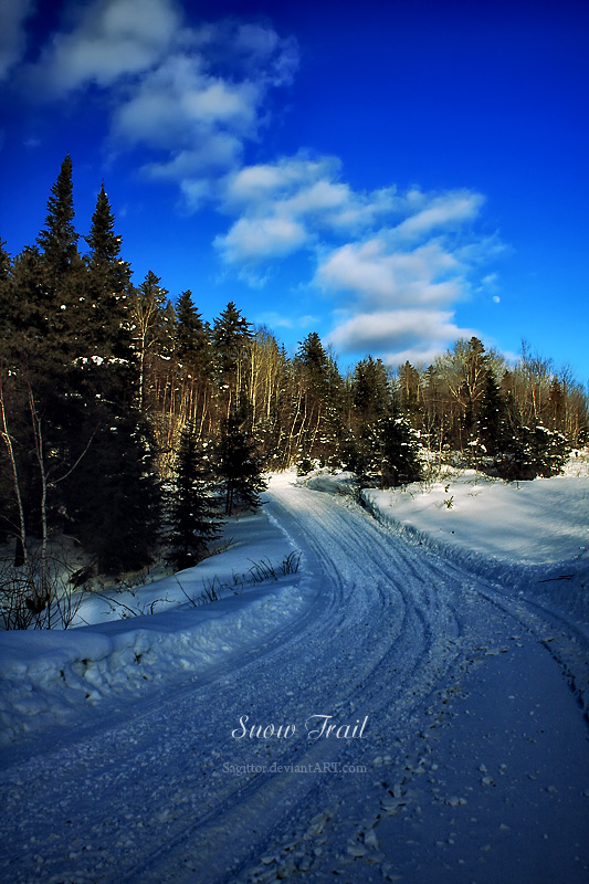 Snow Trail by Sagittor