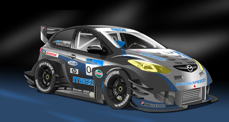 Mazda 2R - Race Car by StylePixelStudios on DeviantArt