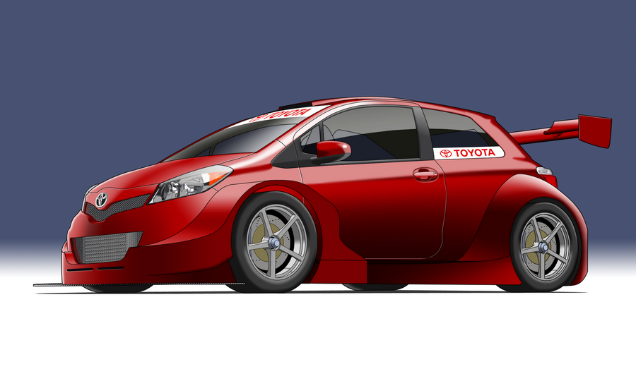 Cartoon Car Race Makween