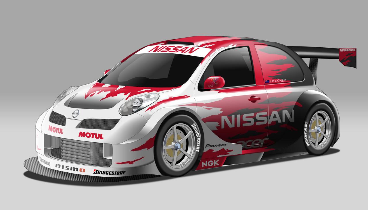 Nissan March Micra Race Car Rehash By Stylepixelstudios