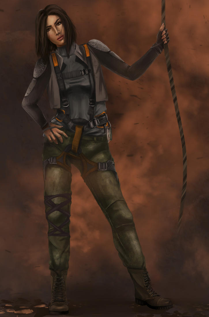 Kara character Design by Mojo-Smileyface