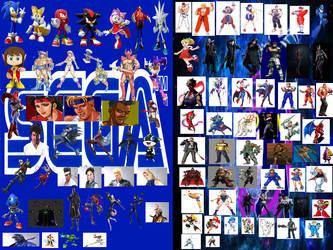 Sega vs Capcom by Felipexbox