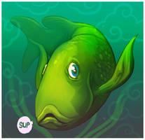 UFOfish by scrotumnose