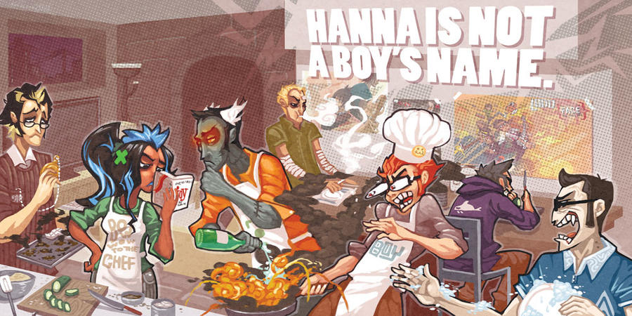 Hanna is not a cooking show by scrotumnose