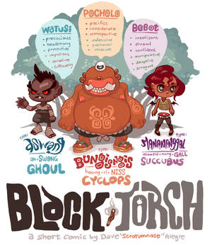 BLACK TORCH: SOME CHARACTERS