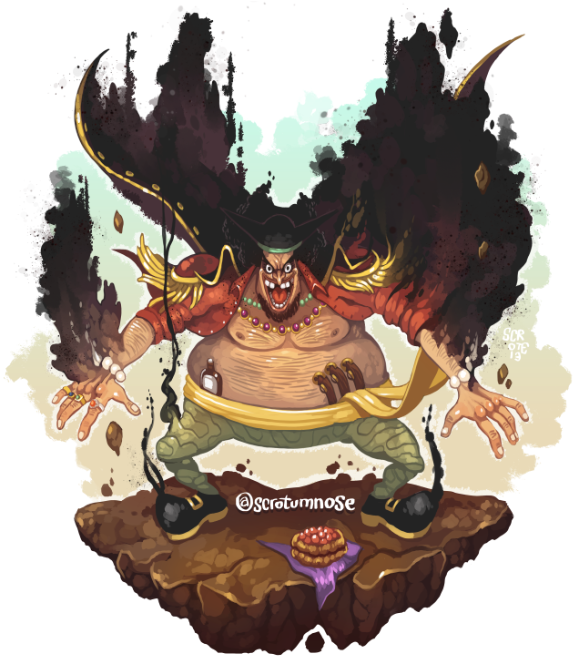 Blackbeard And Luffy: MARSHALL D. TEACH, ZEHAHAHAHAHA By Scrotumnose On DeviantArt
