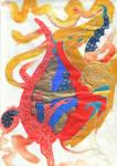 Celestial Rose Dragon