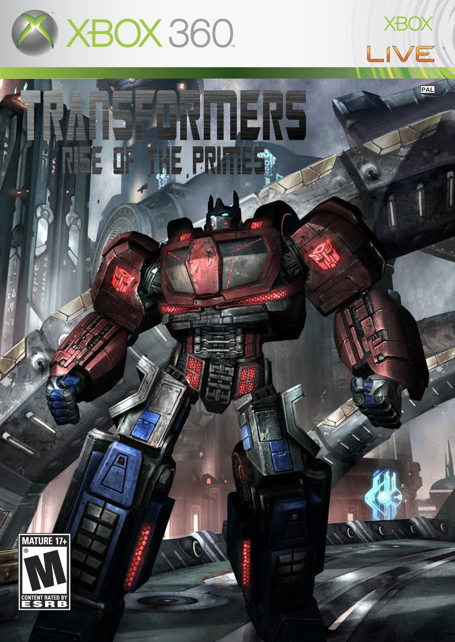 Xbox 360 Transformers Fall of Cybertron Transformers Fall Cybertron