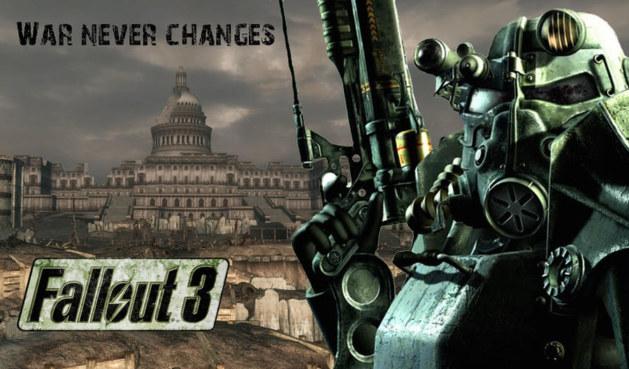 Fallout 3 wallpaper by o0theforgotten0o on deviantart fallout 3 wallpaper by o0theforgotten0o thecheapjerseys