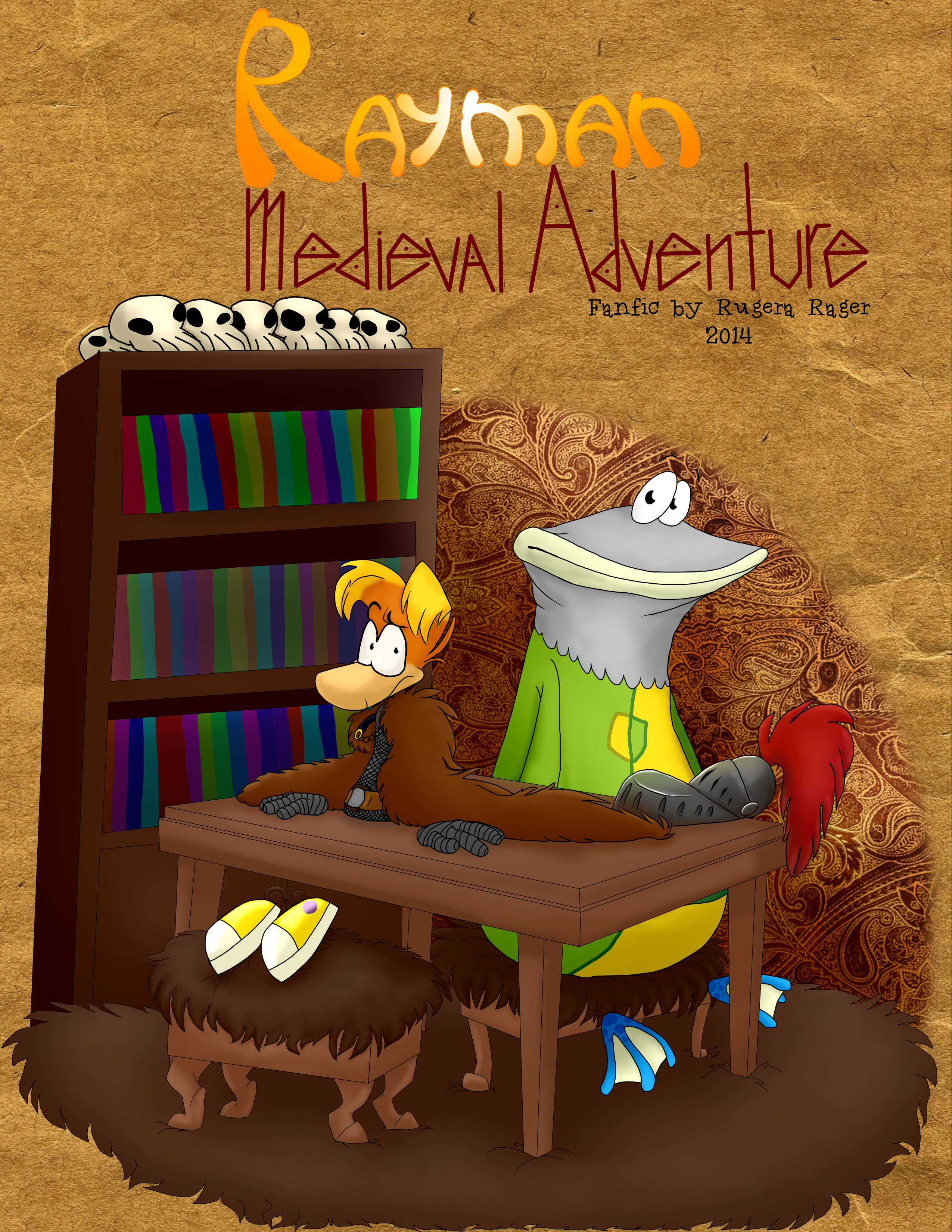 Rayman : Medieval Adventure (fanfic's cover)