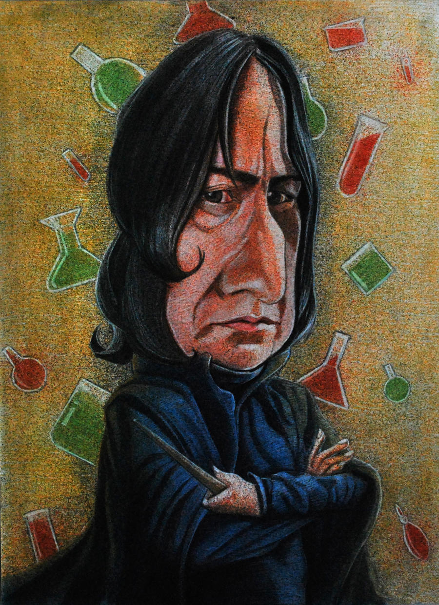 Snape by Johnatyroth