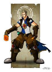 Templar - Sir Aaron Blazewing