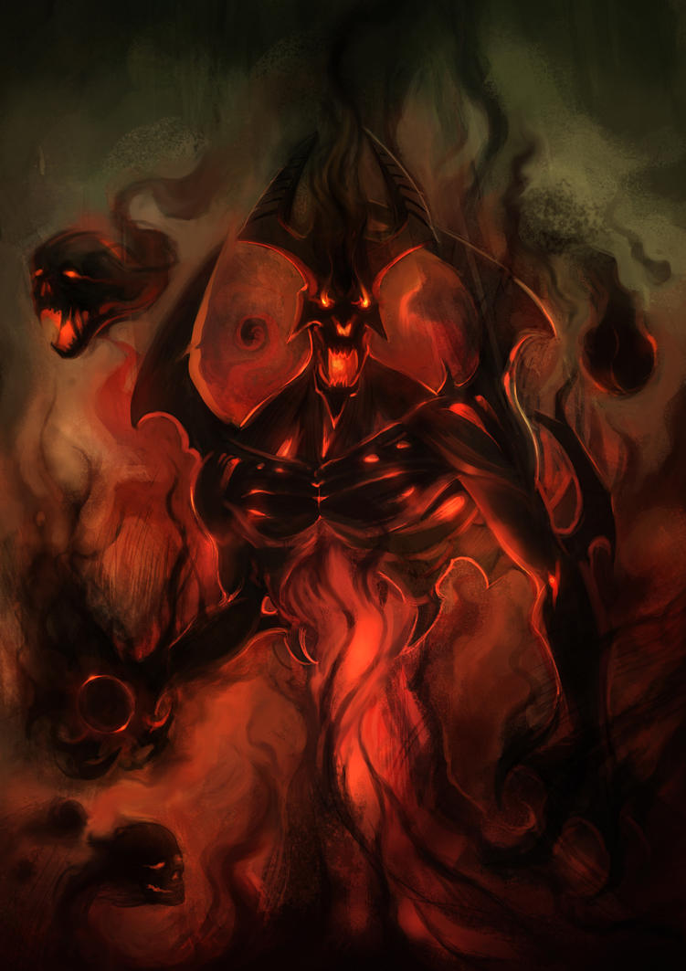 Nevermore The Shadow Fiend Dota 2 Hd Wallpaper Jian Estose