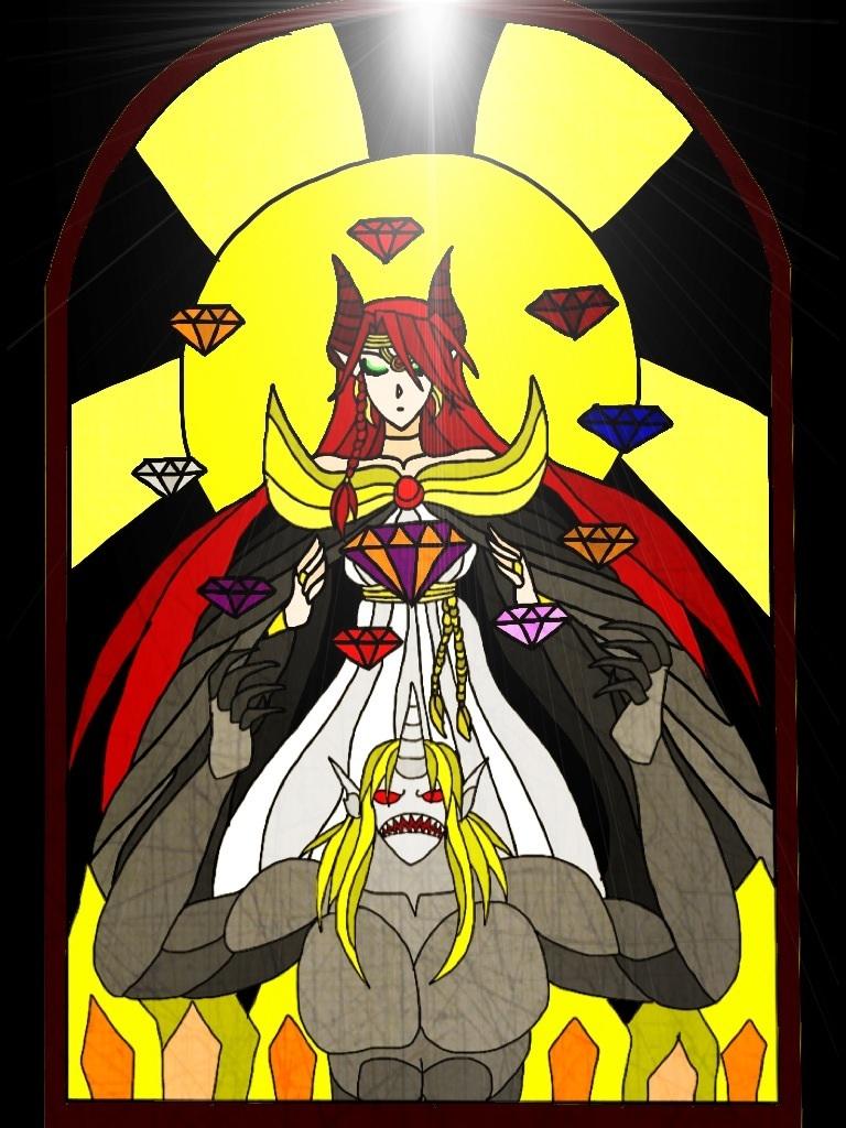 windows princess devil vs nasy by greciasardinajimenez