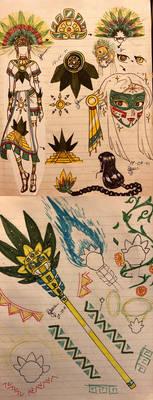 Azteca de Quetzalcoatl Gala