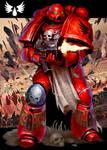 Warhammer 40k - Blood Angels Space Marine