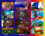 2013 Summary of Art!