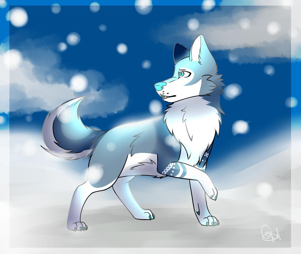 .:A Winter Night:. by Ikuzim