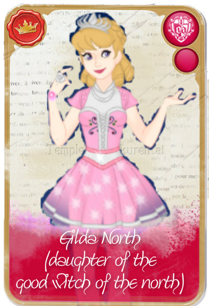 Ever After High Oc Card - Gilda North by KariaHearts56789
