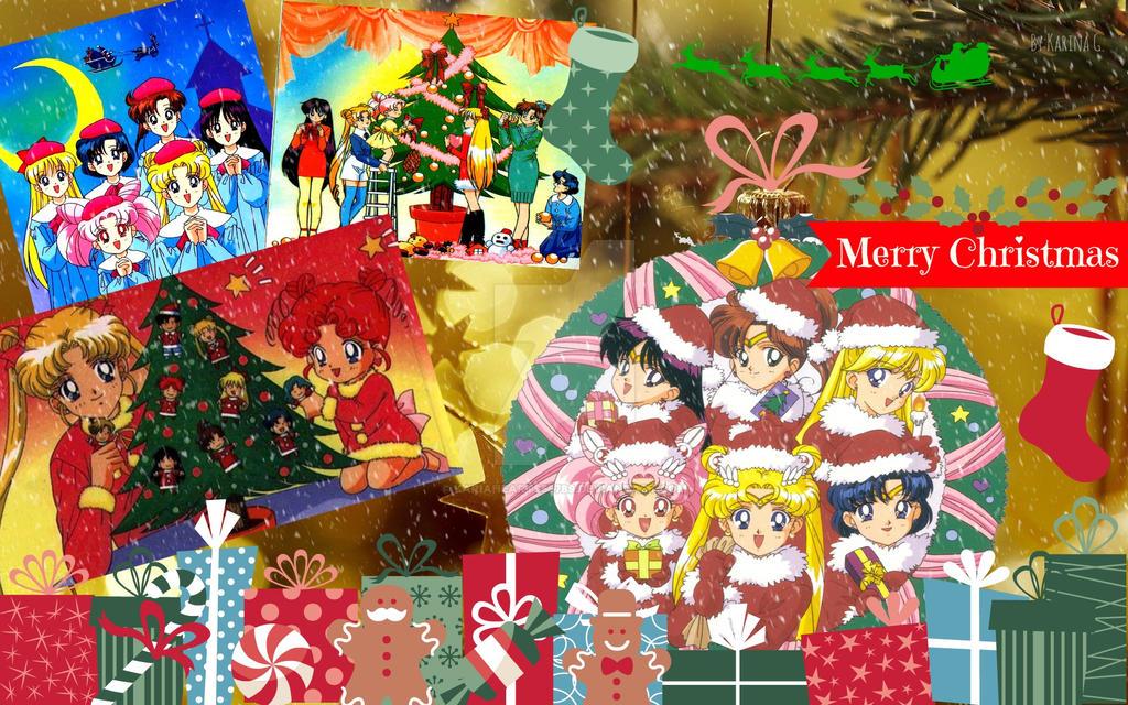 sailor moon merry christmas by kariahearts56789
